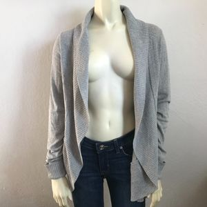 Silence+Noise Women's Size XS Gray Cardigan